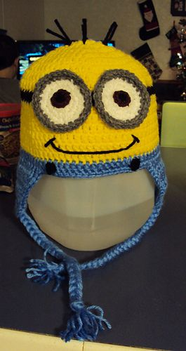Free Crochet Pattern For Girl Minion Hat : Minions, Minion hats and Hats on Pinterest