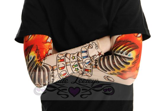 Tattoo Sleeve Rock and Roll Shirt for Boys or Girls by TotTude, $24.00