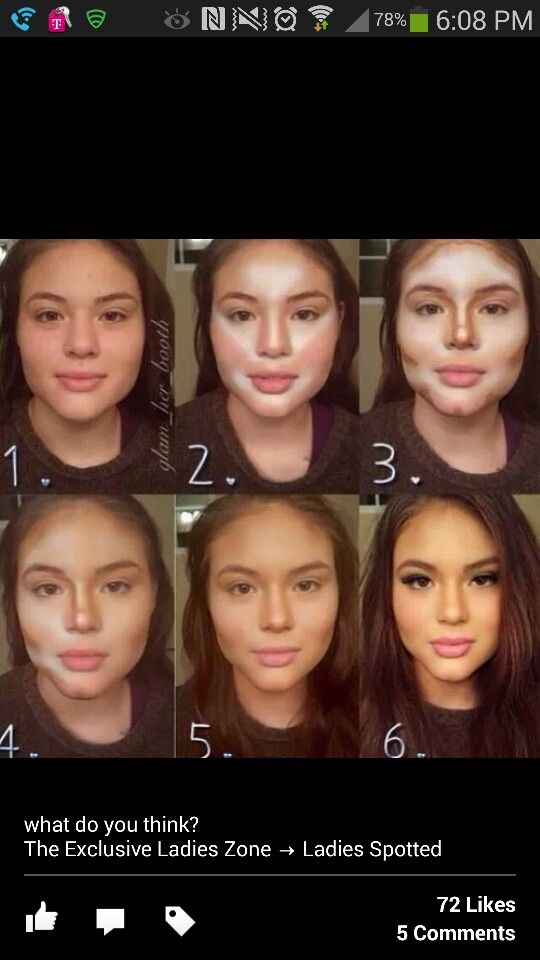 How To Contour Your Makeup Step By Step - Mugeek Vidalondon