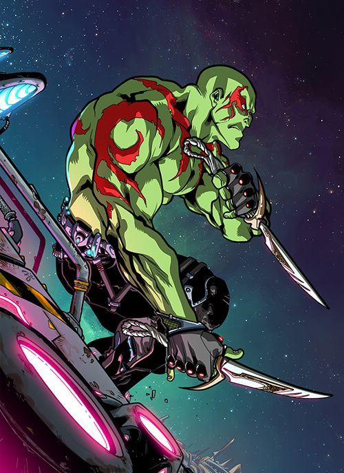 """avengers-of-the-galaxy: """" Drax The Destroyer """""""
