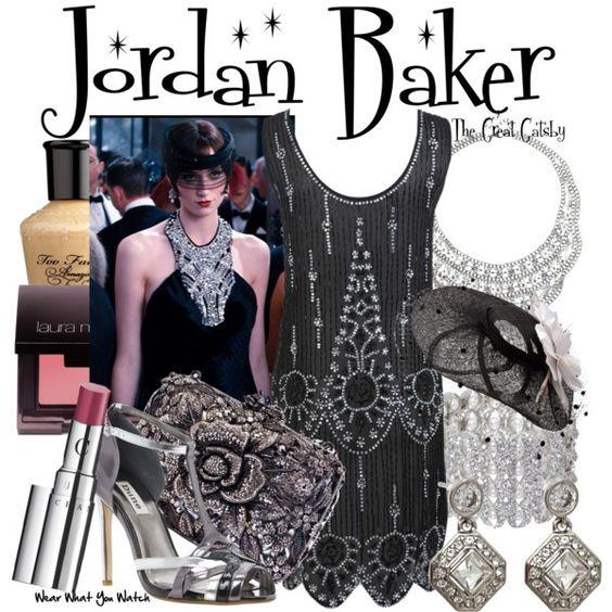 Inspired by Elizabeth Debicki as Jordan Baker in 2013's The Great Gatsby.