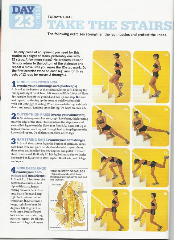 Workouts Stairs Exercise And More Stairs Workout Stairs From Home