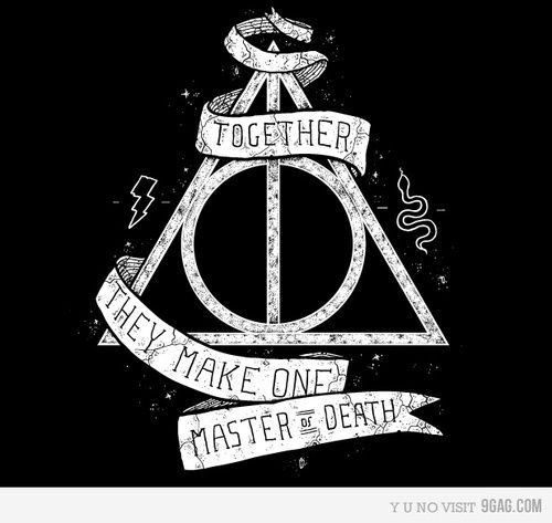 Deathly hallows if you add the elder wand invisibility for Harry potter and the deathly hallows wand