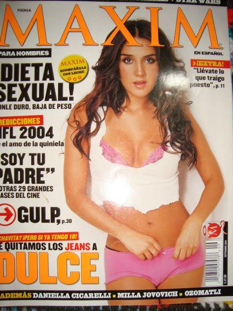 Rebelde memories: Dulce Maria Maxim photoshoot 09.2004
