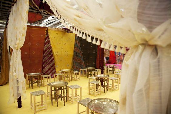 Spezie, artigianato marocchino e una sala per la degustazione del tè: questo e altro nella tenda berbera che tornerà alla Mostra dell'Artigianato 2016. 
