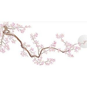 Cherry Blossom Stencil Large Blossom Stencil   Stencils ...