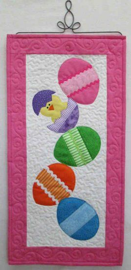 Twirl Into Spring Easter Skinnies Wall Hanging Kit