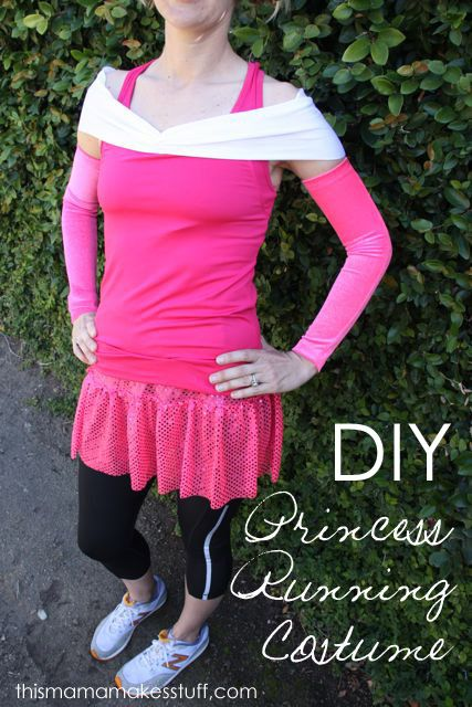 Sleeping Beauty running costume for the Disney 1/2 :) Want to do this!