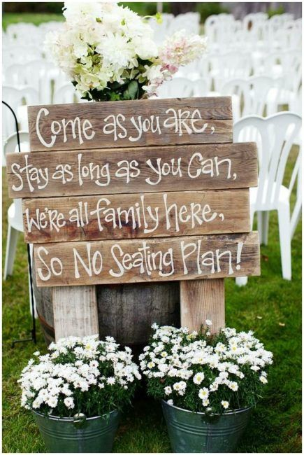 Backyard Bbq Wedding Ideas Discovered On A Budget By Experts Barn Wedding Decorations Rustic Wedding Signs Backyard Wedding