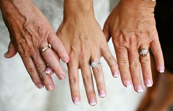 generationen Lustige Hochzeitsfotos Ideen drei alter