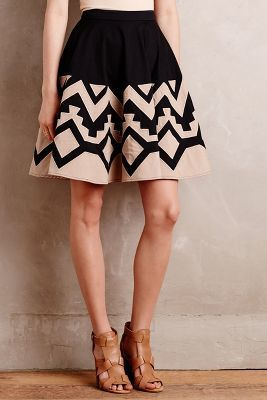 Plenty by Tracy Reese High Sierra Skirt #anthrofave