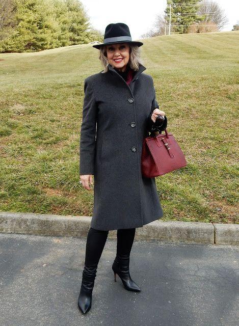 Fifty, not Frumpy: Choosing A Winter Coat: