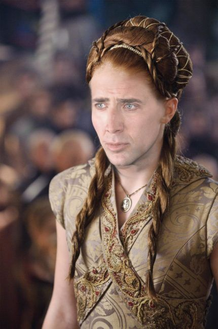 30 Hilarious Photos Proving Nicholas Cage Should Play Every 'Game Of Thrones' Character