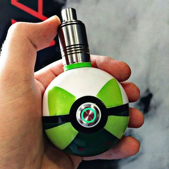Pokévape by @boomboxmod  Help save vaping by calling your representatives link in my bio  @vapeporn  Seen at @vapergram by vapeporn