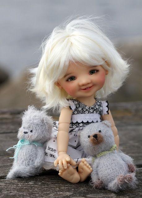 Предзаказ на тановую и медовую Gigi от Meadow dolls / Meadow dolls / Бэйбики. Куклы фото. Одежда для кукол