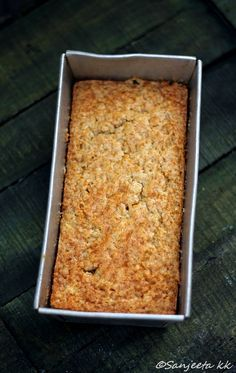 Eggless Whole-wheat Orange cake