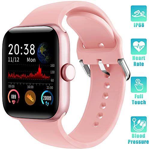 Lifebee Reloj Inteligente Smartwatch Impermeable Ip68 Para Mujer Hombre Niño Pulsera Actividad Inteligente Reloj Inteligente Contador De Calorías Smartwatch