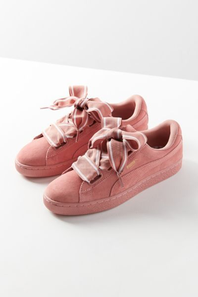 Puma Suede Heart Satin II Sneaker   Urban Outfitters   Shoes