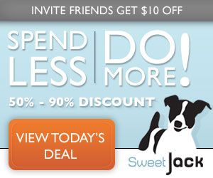 SweetJack offers the best daily deals and deal marketplace—get discounts of 50%-90% on hundreds of restaurants, bars, sporting events, hotels, spas, classes, family activities and more. Locals are raving and we're rapidly growing!
