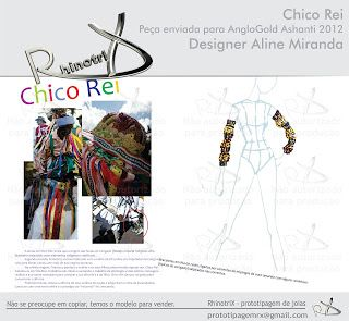 RhinotriX: Joia Chico Rei - enviada para o AngloGold 2012
