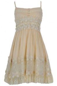 Juliet Beige Dress