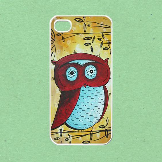 iPhone 5 case, iPhone Case - Owl On