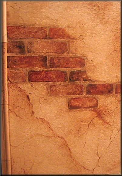 Faux finish brick faux finishes faux finish Faux finishes for kitchen walls