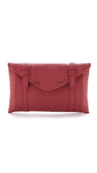 Shopbop Reece Hudson Bowery Oversized Clutch: Aw15 Bags, Handbags Clutches, Accessories Clutches, S M L Xl Bags, Bags Totes Clutch, Shoes Bags, Purses Clutches Wallets, Clutches Small Bags, Hand Bags Clutch