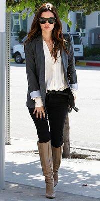 Rachel Bilson - smart look