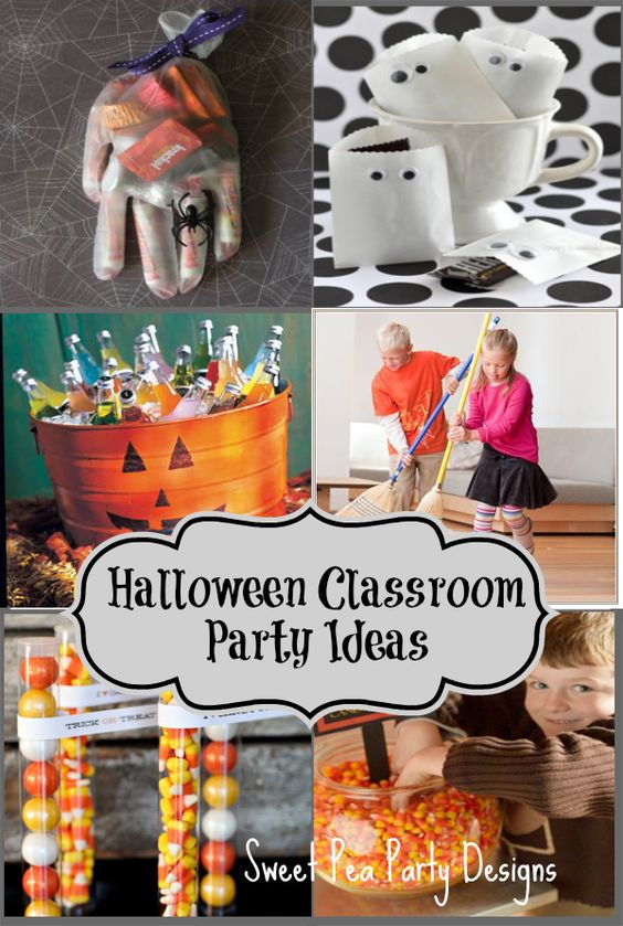 Classroom Birthday Party Games ~ Halloween classroom party ideas games and treats