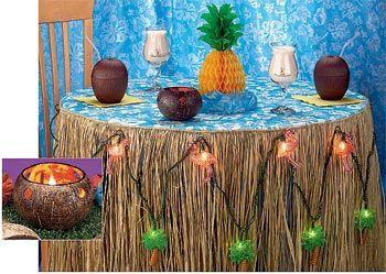 Hawaiian Party Cake Hawaiian Home Decor On Decorations