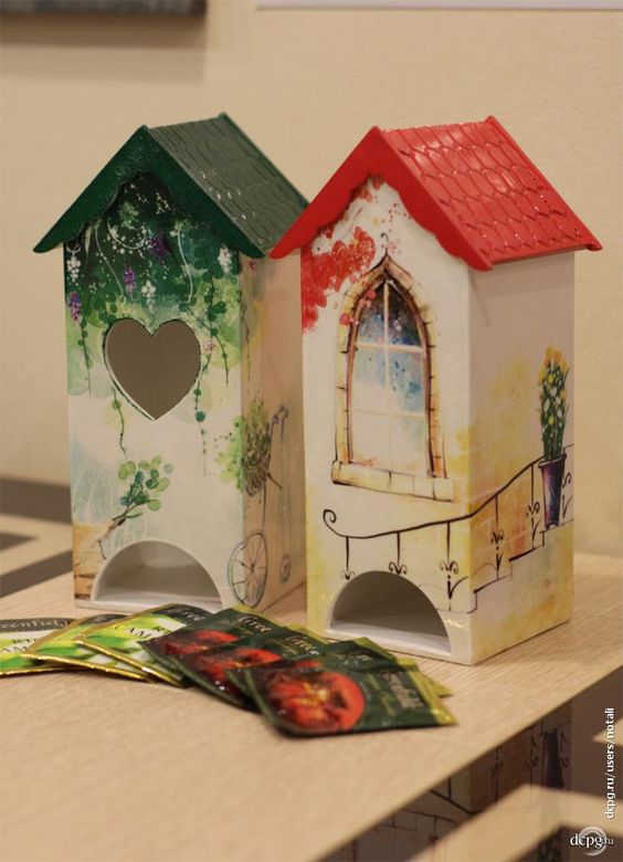Decoupage Decoupage art and Handmade home decor on Pinterest