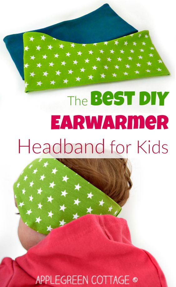 The best earwarmer headband tutorial - and free 3-size PDF sewing pattern coming soon! This perfect headband pdf pattern will add a pop of color to your kids' fall wardrobe AND let them stay WARM outdoors this fall.