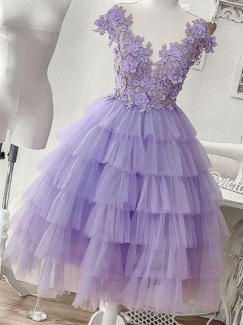 lila klänningar online