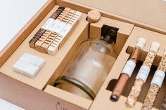 Geschenkidee für Genießer: Set, um Spirituosen selbst veredeln und brauen / brewing set with herbs, gift idea for him made by Aging & Flavor via DaWanda.com