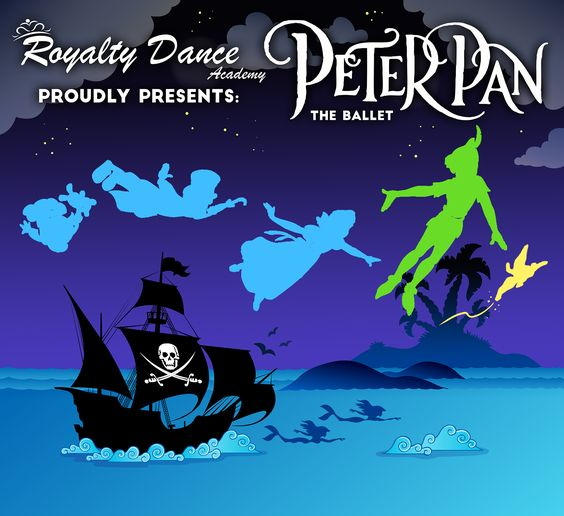 Royalty Dance Academy: Peter Pan Ballet Tickets can only by purchased in our studio!          Show times: Saturday Jan. 30 @ 7:00PM  Sunday Jan. 31 @ 2:30PM Reserved $25     General admission $12   Box Office hours:  Monday-Thursday 3:00-9:00pm  Friday 3:00- 7:00pm  At the Granville Arts Center in Garland, TX.