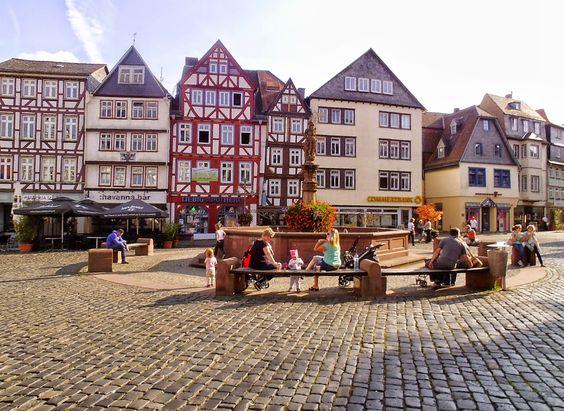 Butzbach - Schon der Name zeigt: dieses Städtchen ist niedlich http://www.anderswohin.de/2014/10/butzbach-schon-der-name-zeigt-dieses.html