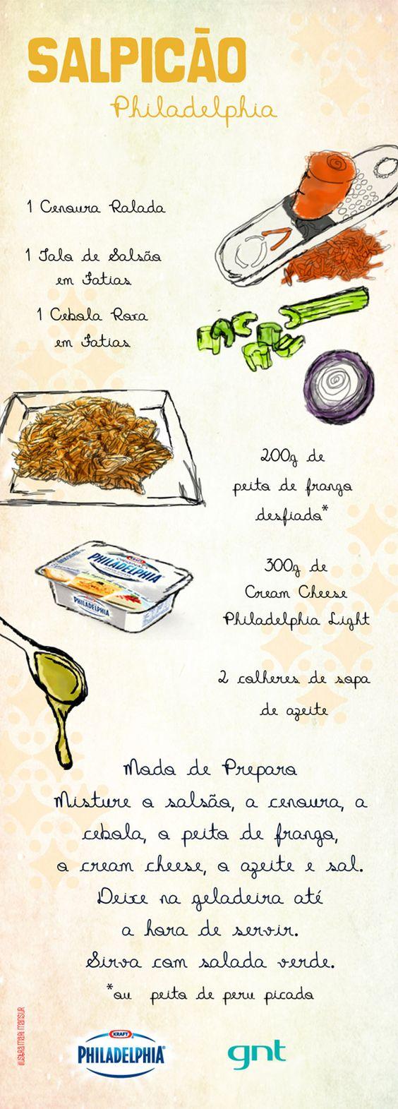 Receita de salpicão - Receitas - Receitas GNT: