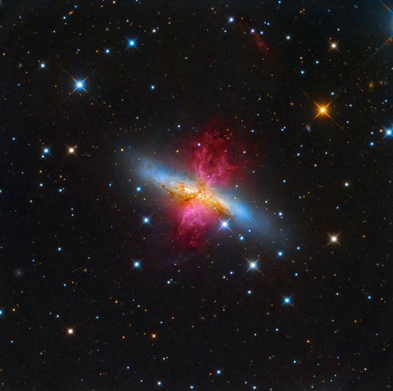 M82: Starburst Galaxy