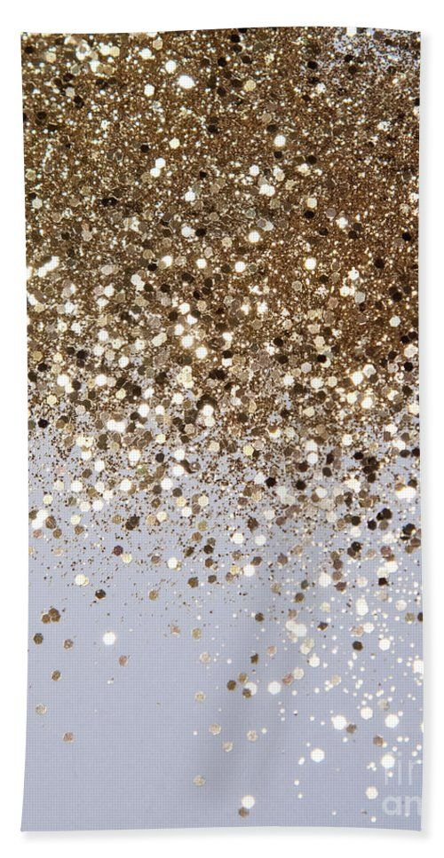 Sparkling Champagne Gold Glitter Glam 1 Shiny Decor Art Beach Towel For Sale By Anitas And Bellas Art In 2021 Gold Glitter Background Glitter Photography Gold Aesthetic Wallpaper gold glam behind white