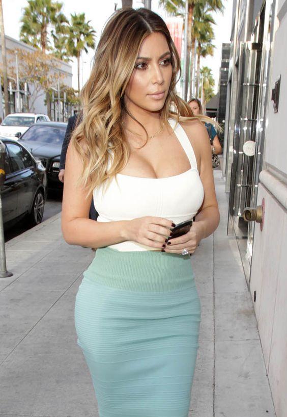 kim kardashian blonde ombre , Google Search