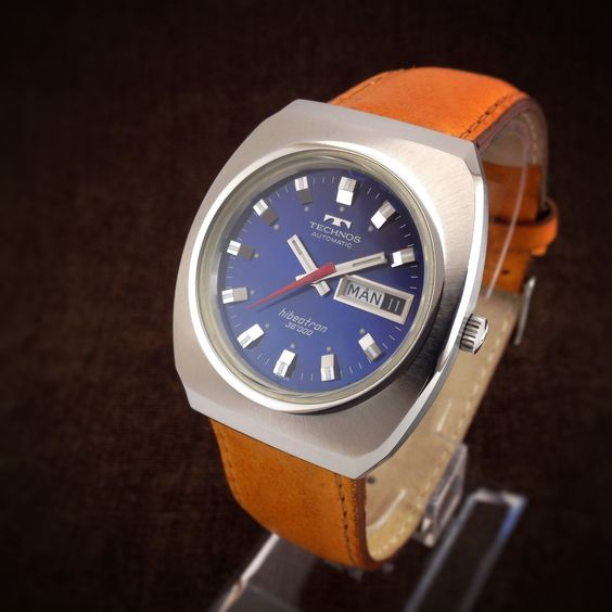 Etsy watches and techno on pinterest for Technos watches