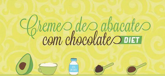 RECEITA-ILUSTRADA 139: Creme de abacate vegano e Diet http://mixidao.com.br/receita-ilustrada-139-creme-de-abacate-diet/