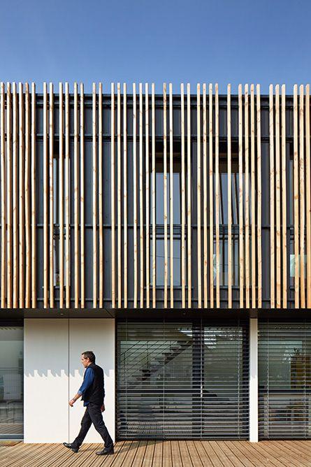 Bbc construction and photos on pinterest for Constructeur maison ossature bois quimper