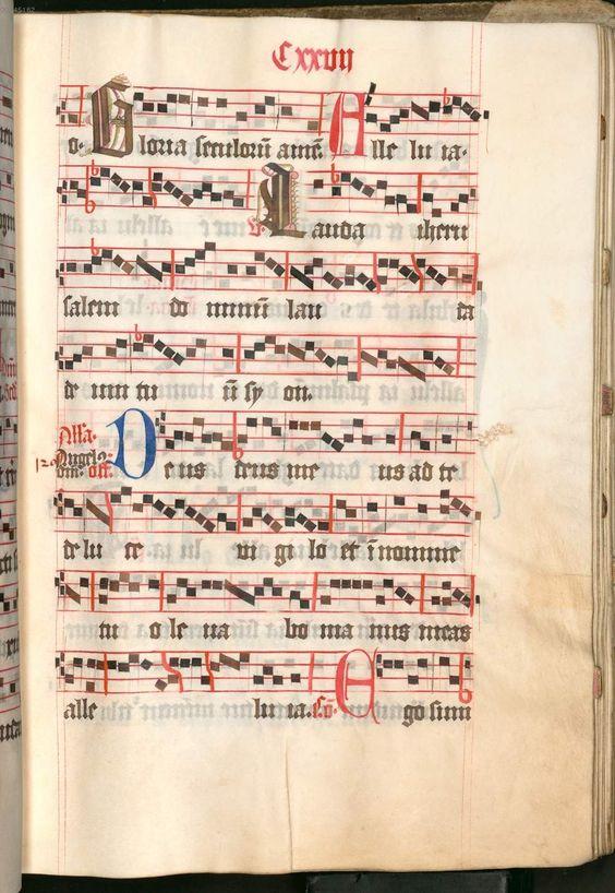 Missale, cum notis musicis et cum figuris literisque pictis Berthold Furtmeyr Clm 23032 [Regensburg], Ende 15. Jahrhundert Folio 127