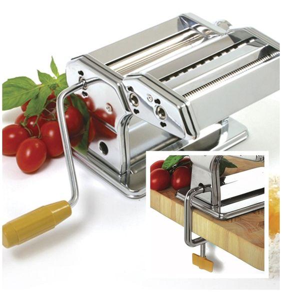 Hand crank Pasta Machine