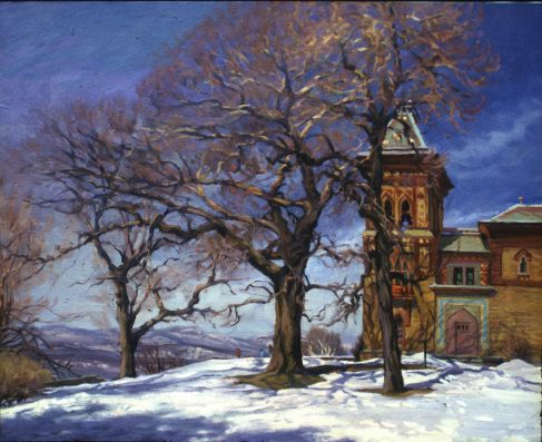 Winter Door Olana Home Of Frederic Edwin Church 1994 By David
