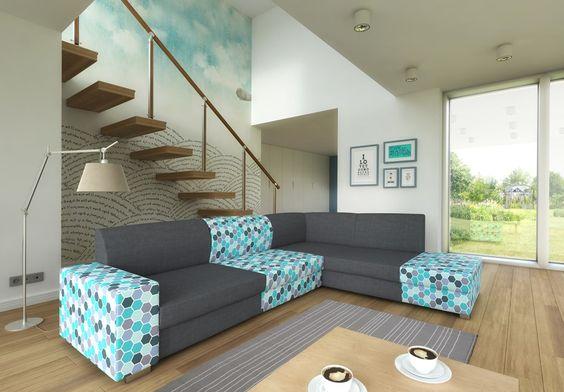 Dieses Eckofa ist ideal für das Wohnzimmer, verbindet höchste Qualitätsansprüche mit einzigartigem Design. Verschiedene Farbkombination ermöglicht.  #ecksofa #sofa #zimmer #wohnzimmer #couch #couchgarnitur