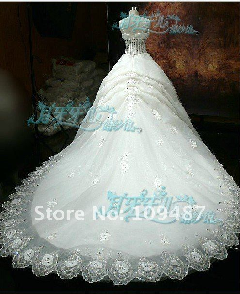 The wedding kind shooting flash drill the peacock significant chest waist-tail wedding $880.00