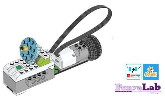 Lego wedo + Scratch – Satèl·lit